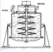 Схема установки для фильтрации жидкостей