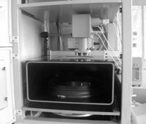 Установка селективного лазерного спекания. Рабочая камера
