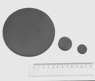 Керамические мишени из отработанных материалов